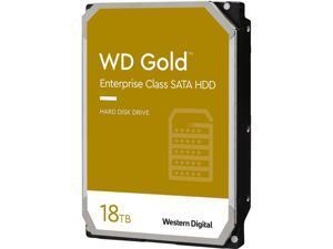"WD WD181KRYZ Gold 18 TB Hard Drive - 3.5"" Internal - SATA (SATA/600) - Server, Storage System Device Supported - 7200rpm"