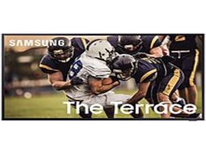 Samsung QN55LST7TAF 55-Inch Class The Terrace 4K Ultra HD HDR QLED Smart TV - 3840 x 2160 - 240 MR - 16:9 - HDMI - Wi-Fi - Bluetooth - Alexa - Google Assistant - Titan Black