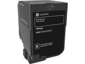 Lexmark Original Toner Cartridge - Laser - High Yield - 25000 Pages - Black