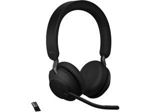 Jabra 26599-999-999 Evolve2 65 Headset - Stereo - USB Type A - Wireless - Bluetooth - Over-the-head - Binaural - Supra-aural - Black