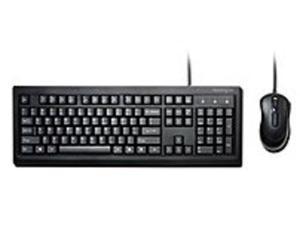 Kensington K72436AM Keyboard, Mouse Set - Wired - USB - Black