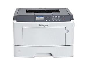 Lexmark MS510DN Laser Printer - Monochrome - 1200 x 1200 dpi Print - Plain Paper Print - Desktop - 45 ppm Mono Print - 350 sheets Input - Automatic Duplex Print - LCD - Gigabit Ethernet - USB