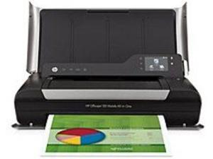 HP Officejet 150 Mobile CN550AB1H All-in-One Wireless Thermal Inkjet Printer, Copier, Scanner - ISO: Up to 5 ppm/Up to 3.5 ppm (Black), Up to 22 ppm, Up to 18 ppm (Draft) - 4800 x 1200 dpi ...