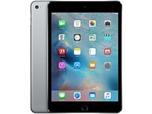 """Apple iPad mini 4 - 16GB Storage, Wi-Fi, 7.9"""" Retina Display, 8 MP iSight Camera, 1080p HD Video Recording, Space Gray (MK6J2LL/A)"""