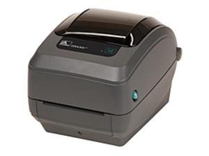 Zebra GX430t Direct Thermal/Thermal Transfer Printer - Monochrome - Desktop - Wireless LAN - USB / Serial