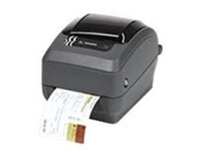 Zebra G-Series GX43-102410-000 GX430t B/W Direct Thermal/Thermal Transfer Printer - 240.9 Inches/Minutes - 300 dpi - Serial, USB, Ethernet 10/100Base-TX - AC 120/230V