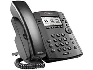 Polycom VVX 311 IP Phone - Cable - Wall Mountable - 6 x Total Line - VoIP - Speakerphone - 2 x Network (RJ-45) - PoE Ports - LDAP, SIP, DHCP, SNTP, LLDP-MED, RTCP, RTP, TCP, UDP, SRTP Protocol(s)