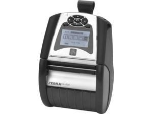 "Zebra QLn320 3"" Direct Thermal Mobile Label Printer, LCD, 203 dpi, Bluetooth 3.0, Mfi + Ethernet, Linered Platen, CPCL, EPL, ZPL, XML - QN3-AUCA0M00-00"