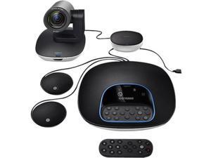 Logitech GROUP Video Conferencing System Plus Expansion Mics - 1920 x 1080 Video (Content) - 30 fps - USB