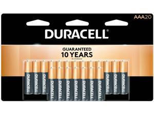 DURACELL CopperTop MN2400 1.5V AAA Alkaline Battery, 1 x 20-pack