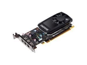 PNY Quadro P400 Graphic Card - 2 GB GDDR5 - Low-profile - Single Slot Space Required - 64 bit Bus Width - Fan Cooler - OpenGL 4.5, DirectX 12, OpenCL, Vulkan 1.0, DirectCompute - 3 x Mini ...