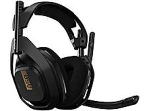 Astro A50 Wireless Headset with Lithium-Ion Battery - Stereo - Wireless - 30 ft - 20 Hz - 20 kHz - Over-the-head - Binaural - Circumaural - Uni-directional, Noise Cancelling Microphone - Noise ...