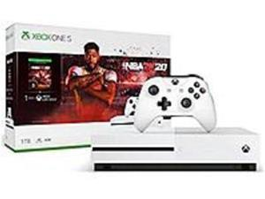Microsoft Xbox One S NBA 2K20 Bundle (1TB) - Game Pad Supported - Wireless - AMD Radeon Graphics Core Next - 3840 x 2160 - 16:9 - 2160p - Blu-ray Disc Player - 1 TB HDD - Gigabit Ethernet - ...
