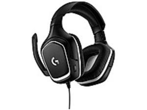 Logitech 981-000830 G332 SE Headset - Stereo - Mini-phone - Wired - 20 Hz - 20 kHz - Over-the-head - Binaural - Circumaural - Black/White