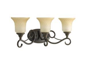 Progress Lighting Kensington Three-Light Bath Fixture - P2785-77