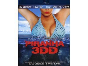Piranha 3Dd 2D-3D
