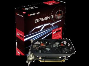 Biostar OC Gaming Radeon RX 560 4GB GDDR5 128-Bit DirectX 12, PCI Express 3.0 x16, DVI-D, Dual Link, HDMI, DisplayPort and VORTEX Dual Cooling Fan