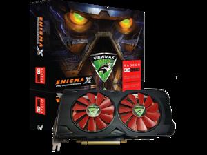 ViewMax ENIGMAX Radeon RX 570 4GB GDDR5 256-Bit DirectX 12 PCI Express 3.0 x16 DVI-D Dual Link, HDMI, 3 DisplayPort, PRO Gaming Edition