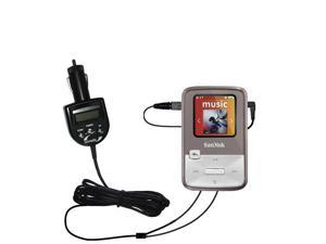 Black Rapid Car Charger for SanDisk Sansa Clip Zip 4GB 8GB MP3 Player SDMX22
