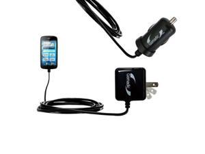 Intelligent Dual Purpose DC Vehicle and AC Home Wall Charger suitable for the Insignia NS-DCC5HB09 one unique charger Uses Gomadic Brand TipExchange Technology Two critical functions