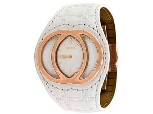 Versace Eclissi Authentic Gianni 84Q White Band Ladies Watch