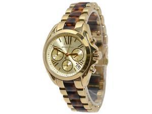 Michael Kors MK5973 Gold Dial Gold Tone Stainless Chrono Women's Watch