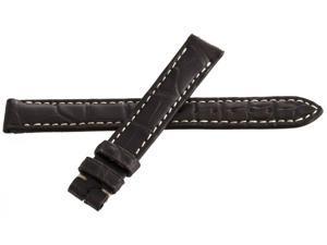 Genuine Longines 13mm x 12mm Dark Brown Watch Band Strap L682120613