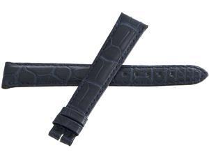 Genuine Longines 15mm x 13mm Blue Watch Band Strap
