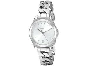 DKNY NY2424 Parsons Silver Dial Stainless Steel Women's Watch