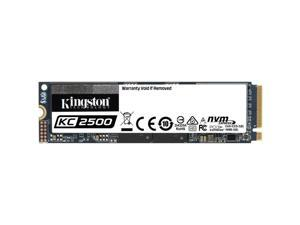 Kingston KC2500 M.2 2280 1TB NVMe PCIe Gen 3.0 x4 96-layer 3D TLC Internal Solid State Drive (SSD) SKC2500M8/1000G