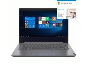 "Lenovo V14 14"" Laptop AMD Ryzen 5-4500U 8GB RAM 256GB SSD Ir + Microsoft 365 Bundle"