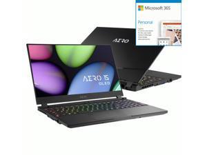 """Gigabyte AERO 15 OLED AERO 15 OLED YB-9US5430SP 15.6"""" Gaming + Microsoft 365 Bundle"""