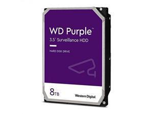 """WD Purple WD84PURZ 8TB 5640 RPM 128MB Cache SATA 6.0Gb/s 3.5"""" Internal Hard Drive Bare Drive"""