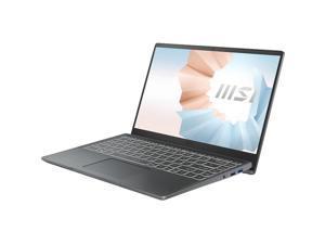 "MSI Modern 14208 14"" Ultrabook Laptop Intel Core i3-1115G4 8GB 512GB SSD Win10 Carbon Gray"