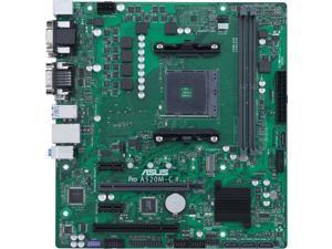 Asus A520M-C II/CSM Desktop Motherboard - AMD Chipset - Socket AM4 - Micro ATX - Ryzen 3, Ryzen 5, Ryzen 7, Ryzen 9, Ryzen 3 PRO, Ryzen 5 Pro, Ryzen 7 PRO, Ryzen 9 PRO Processor Supported DDR4 SDRAM M