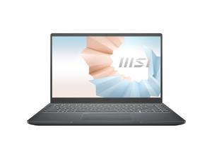 "MSI Modern 14 14"" Ultra Thin and Light Professional Laptop Intel Core i3-10110U UMA 4 GB DDR4 128 GB NVMe SSD Win10 Pro"