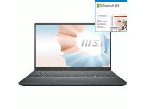 "MSI Modern 14 Modern 14 B10MW-641 14"" Notebook - Full HD - 1 + Microsoft 365 Bundle"