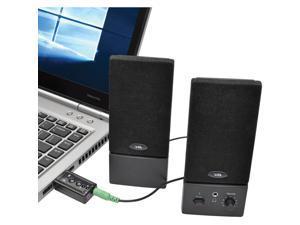 Tripp Lite U237-001 USB External Sound Card Microphone Speaker Virtual 7.1 Channel