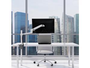 ERGOTRON 45-537-216 LX DESK MOUNT LCD MONITOR ARM, TALL POLE, BRIGHT WHITE TEXTURED, NO GROMMET