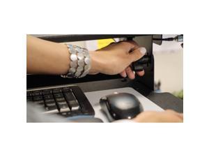 "3M SD60B Standing Desk, Converts Desktop To Sit-Stand Workstation, 35.4"" x 23.2"" x 6.2"""