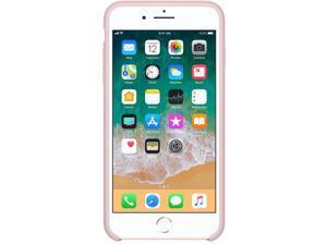 Apple iPhone 8 Plus / 7 Plus Silicone Case - Pink Sand - iPhone 7 Plus, iPhone 8 Plus - Pink Sand - Silky - Silicone, MicroFiber