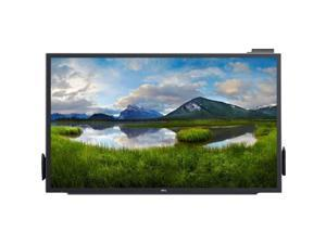 "Dell C5518QT 55"" LCD Touchscreen Monitor - 16:9 - 8 ms - Multi-touch Screen - 3840 x 2160 - 4K UHD - 1.07 Billion Colors - 1,000:1 - 350 Nit - LED Backlight - Speakers - HDMI - USB - VGA - Black,"