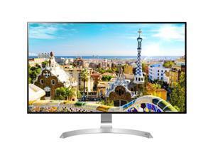 """LG 32UD99-W Black 32"""" 4K HDR10 IPS Widescreen Monitor FreeSync 5ms GTG 2 x 5W Speakers VESA USB Type-C USB 3.0 DisplayPort HDMI"""