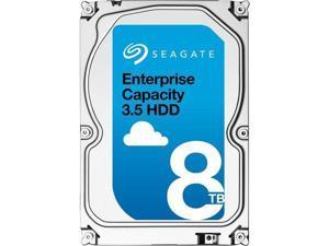 Seagate Enterprise Capacity 3.5'' HDD 8TB (Helium) 7200 RPM SATA 6Gb/s 256MB Cache Hyperscale 512e Internal Hard Drive ST8000NM0016
