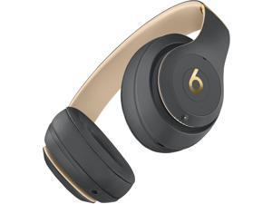 Beats by Dr. Dre Studio3 Wireless Over-Ear Headphones - Shadow Gray - Stereo - Shadow Gray - Mini-phone - Wired/Wireless - Bluetooth - Over-the-head - Binaural - Circumaural - Noise Canceling