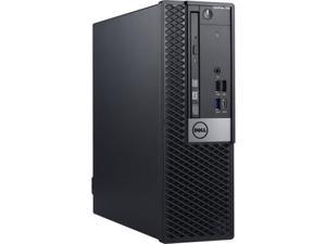 DELL Desktop Computer OptiPlex 7060 7P7R1 Intel Core i7 8th Gen 8700 (3.20 GHz) 8 GB DDR4 500 GB HDD 16 GB Optane Memory Intel UHD Graphics 630 Windows 10 Pro 64-bit