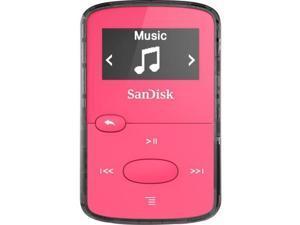 SanDisk Clip Jam 8GB Flash MP3 Player Red