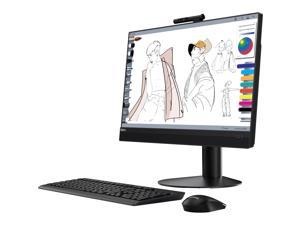 "Lenovo All-in-One Computer ThinkCentre M920z Intel Core i5 8th Gen 8500 (3.00 GHz) 8 GB DDR4 500 GB HDD 23.8"" Touchscreen Windows 10 Pro 64-Bit"