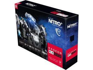 Sapphire NITRO+ Radeon RX 590 Graphic Card - 1.56 GHz Boost Clock - 8 GB GDDR5 - Dual Slot Space Required - 256 bit Bus Width - Fan Cooler - OpenGL 4.5, OpenCL 2.0, DirectX 12 - 2 x DisplayPort - 2 x