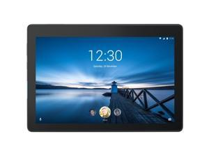 "Lenovo Tab E10 ZA470006US Qualcomm APQ8009 (1.30GHz) 2 GB LPDDR3 Memory 16 GB eMCP Flash Memory 10.1"" 1280 x 800 Tablet PC Android Oreo Slate Black"